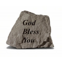 God Bless You Decorative Garden Stone