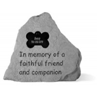 In Memory of...Pet Memorial Garden Stones