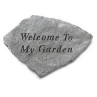 Welcome To My Garden...Decorative Garden Stone