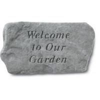 Welcome To Our Garden Decorative Garden Stone