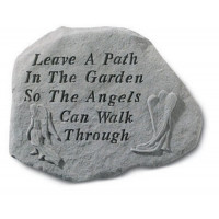 Leave a path in the garden...Decorative Garden Stone w/ Angels