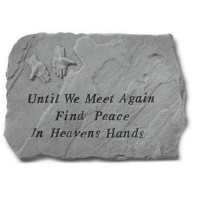 Until We Meet Again...Memorial Garden Stone