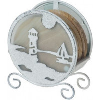 Lighthouse Coaster Holder