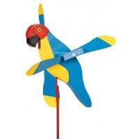 Macaw Whirlybird Garden Stake
