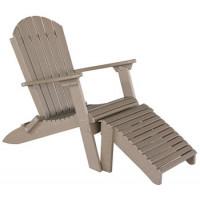 Folding Poly Adirondack Chair