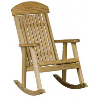 Wooden Porch Rocker