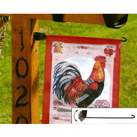 Postal Power Garden Flag Mailbox Stick