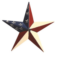 "53"" Decorative Amish Barn Star - America"