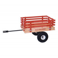 Valley Road Speeder Wagon Trailer - Model #1300T - Red