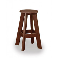 Great Bay Poly Bar Stool - Cherrywood