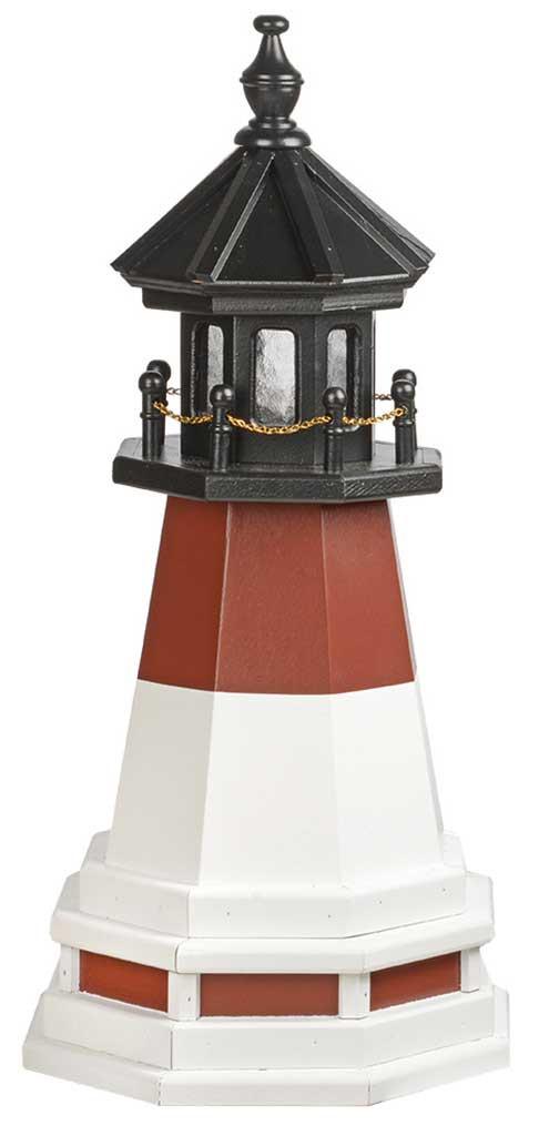2' Barnegat Polywood Lighthouse with Base