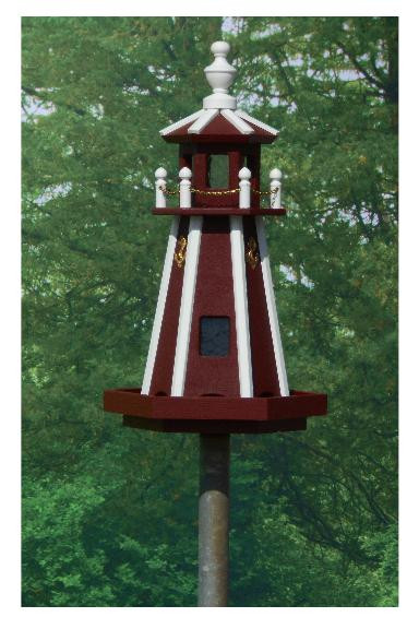 Standard Lighthouse - Red & White