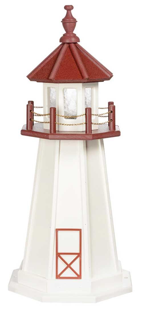 3' Marblehead Polywood Lighthouse