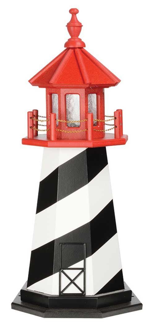 3' St. Augustine Wooden Lighthouse