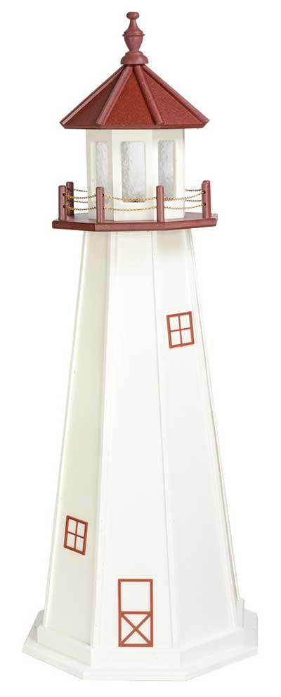 5' Marblehead Polywood Lighthouse