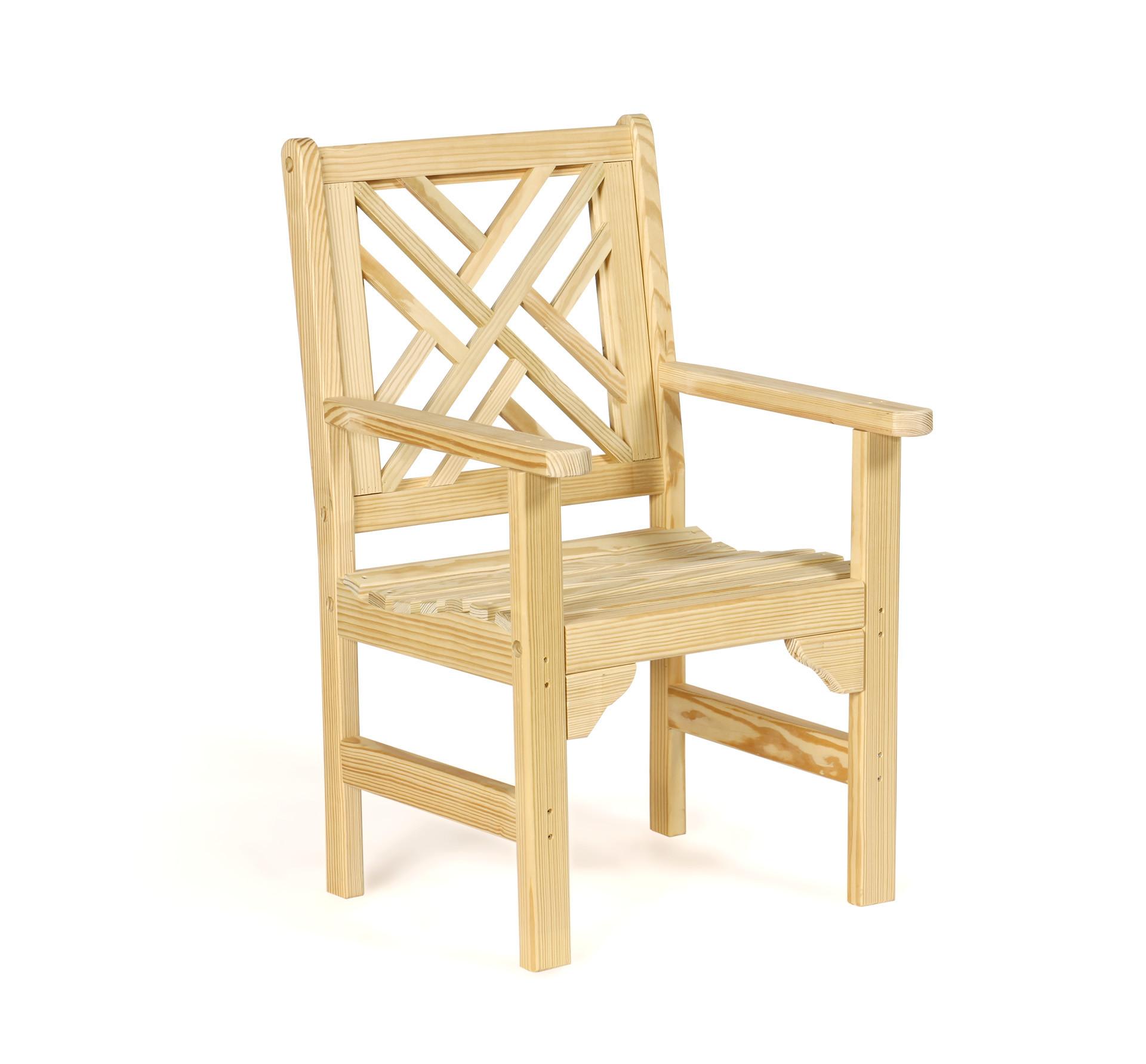 Chippendale Garden Chair