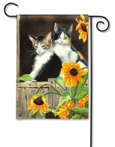 Calico Kitties - Garden Flag