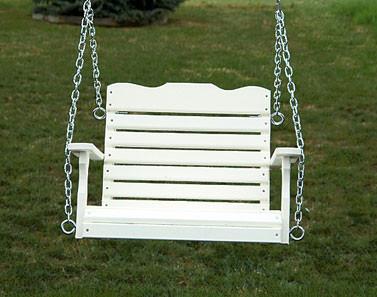 Child's Swing - White