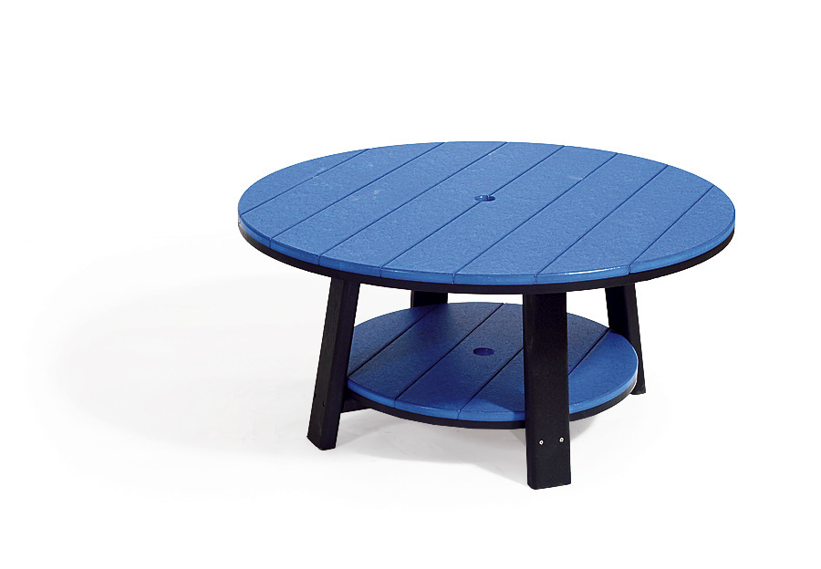 Poly Conversation Table - Blue