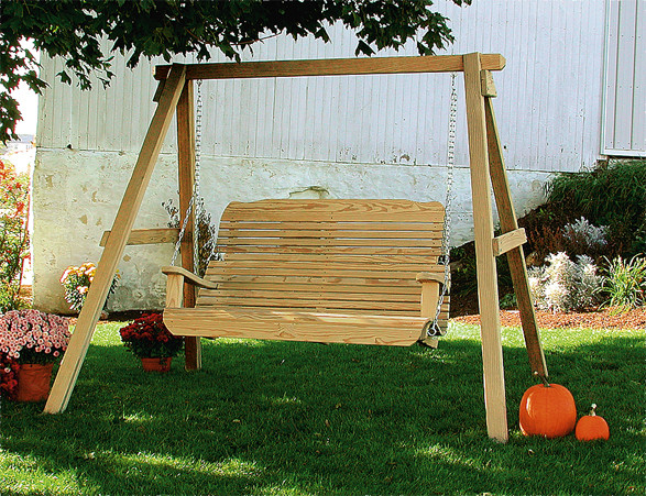 5' Easy Porch Swing with A-Frame