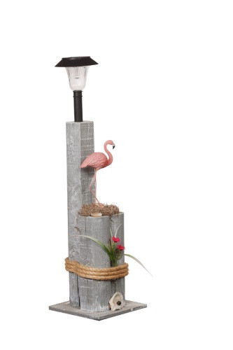 Flamingo Nautical Solar Post