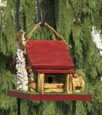 Mill Cabin Birdhouse