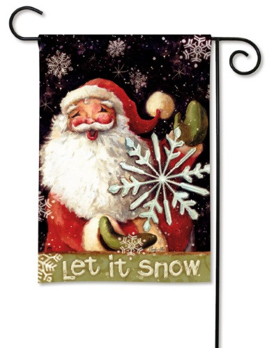 Snow Magic Garden Flag