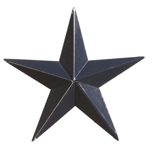 "40"" Decorative Amish Barn Star - Blue"