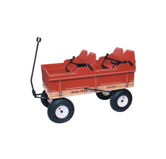 Valley Road Speeder Wagon - Model #275 shown with added double seat