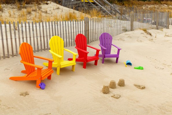 Kids Poly Adirondack Chair