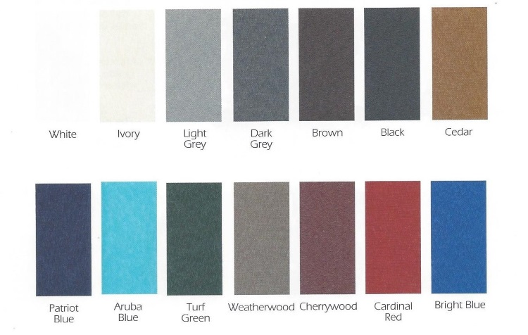 BD 2019 Wood Color Chart