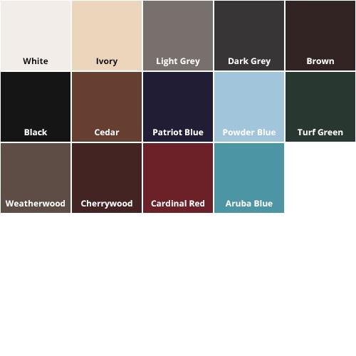 BD Color Chart 2018